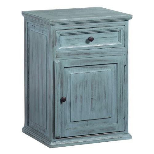 Liza Antique Turquoise Nightstand