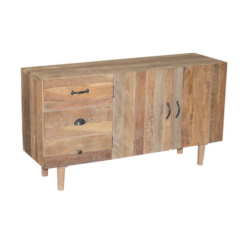 Outbound Tan Dresser with Three Drawers and Cabinet