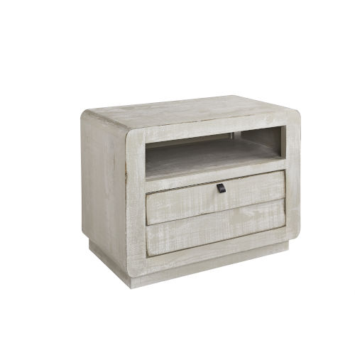 Bliss Gray Chalk Nightstand