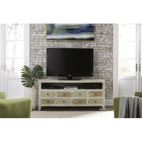 Mojave Neutral Distressed Entertainment Console