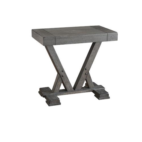 Fiji Harbor Gray Chairside Table
