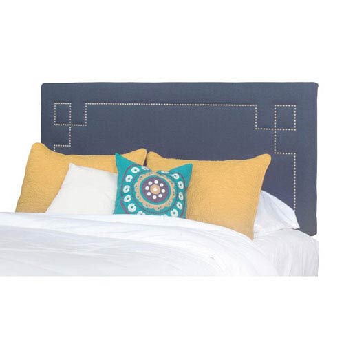 Addison King Upholstered Headboard Only W/ Nailhead Pattern