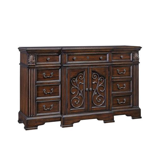 Progressive Furniture Villa Romana Coffee Door Dresser