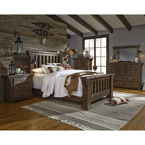 Forrester Complete Queen Slat Bed