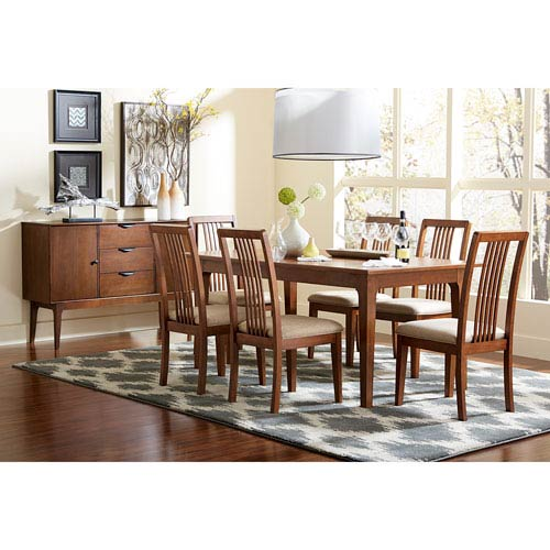 Progressive Furniture Mid-Mod Rectangular Dining Table