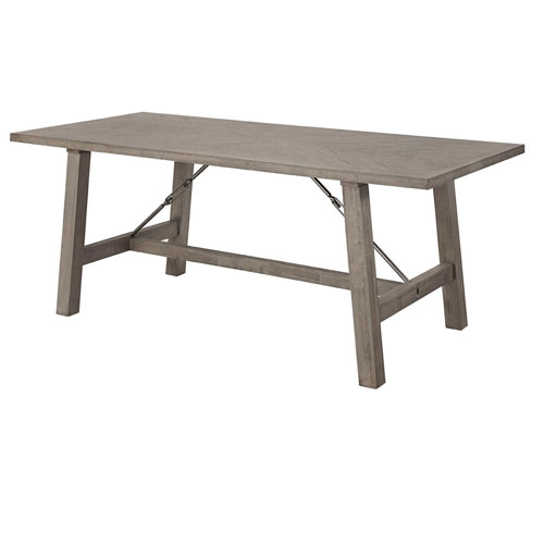 Saxton Mystic Gray Dining Table