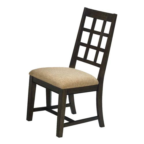 Casual Traditions Walnut Side Chairs, Set of 2
