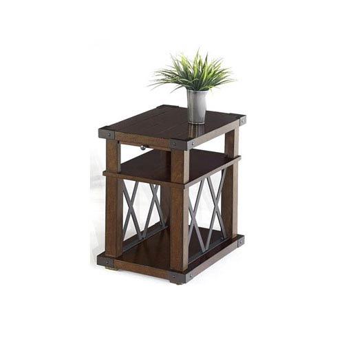 Landmark Vintage Ash Chairside Table