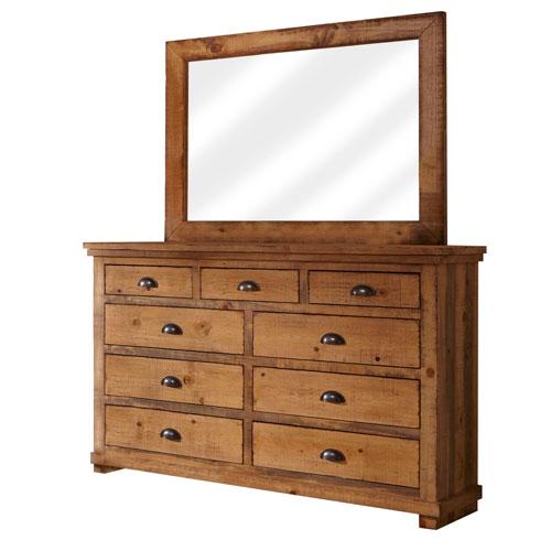 Progressive Furniture Willow Distressed Pine Dresser