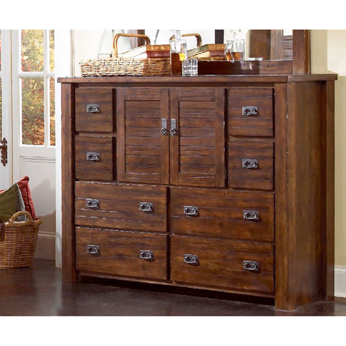 Trestlewood Dresser and Mirror