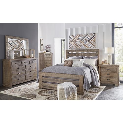 Progressive Furniture Complete King Slat Bed