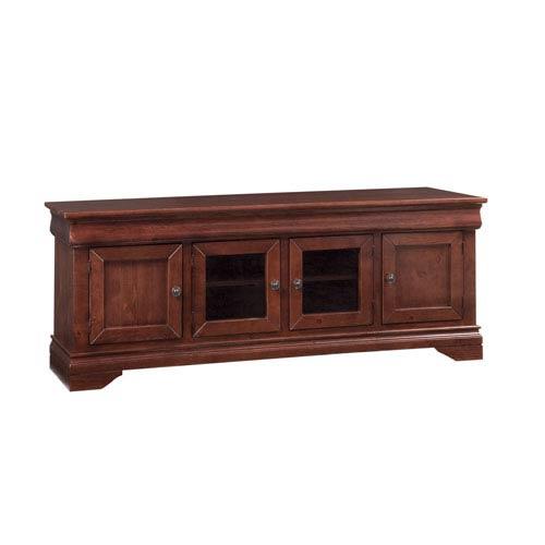 Progressive Furniture Coventry Auburn Cherry 74-Inch Console