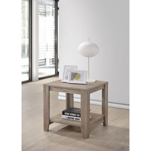 Barry Dark Taupe End Table