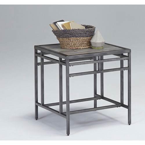Progressive Furniture Sky Tile Rectangular End Table
