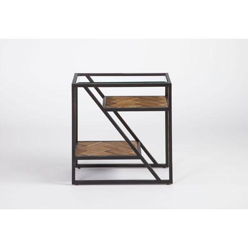 Galaway Fir Chairside Table