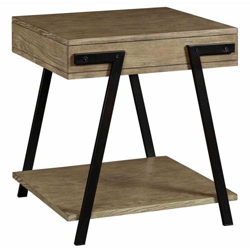 Darby Amber Ash 3 Pack Set of tables- Cocktail and Two End Tables