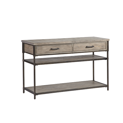 Progressive Furniture Linsley Washed Elm Sofa Table