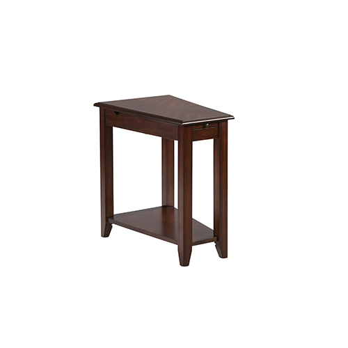 Chairsides II Medium Cherry Chairside Table