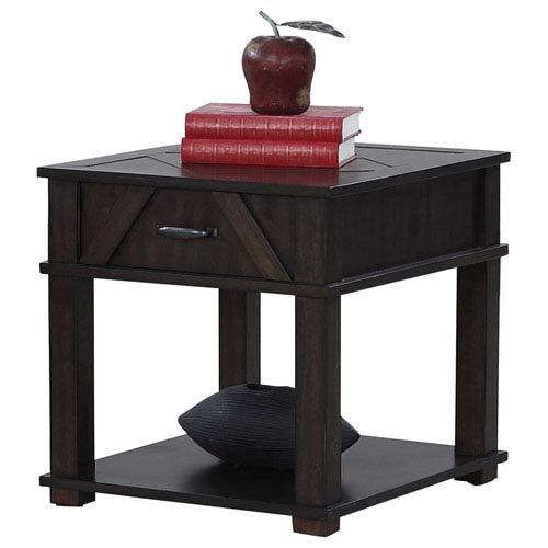 Progressive Furniture Rectangular End Table
