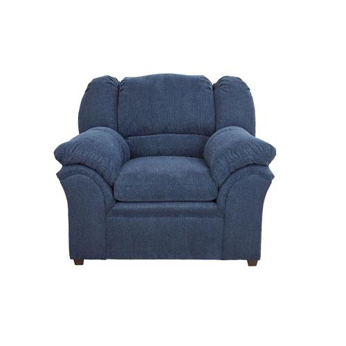Progressive Furniture Big Ben Indigo Chenille Chair