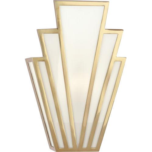 Empire Modern Brass  Seven-Inch One-Light Wall Sconce