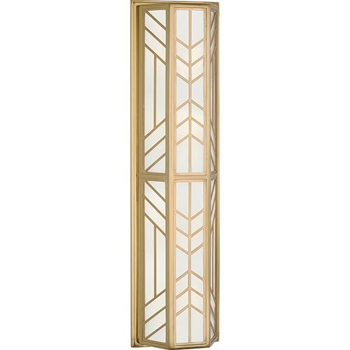 Octavius Modern Brass  Seven-Inch Four-Light Wall Sconce