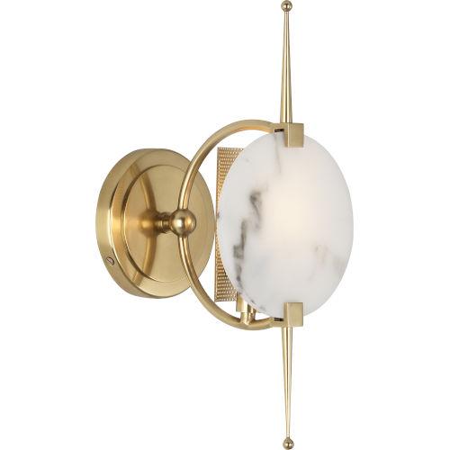 Jace Modern Brass One-Light Wall Sconce