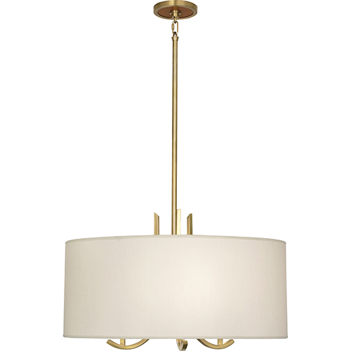 Francesco Antique Brass  17-Inch Three-Light Pendant