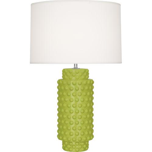 Dolly Apple Glazed Textured Ceramic One-Light Table Lamp