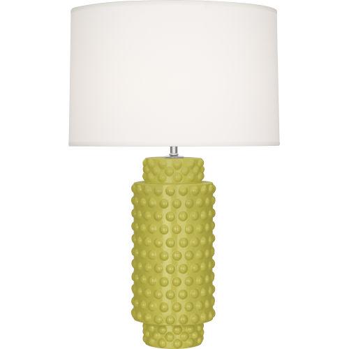Dolly Citron Glazed One-Light Table Lamp