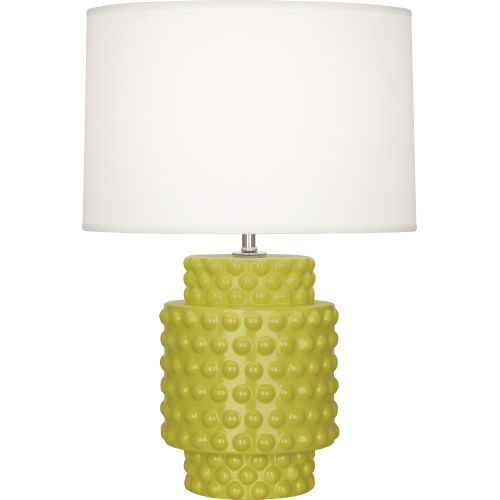 Dolly Citron Glazed One-Light Accent Lamp