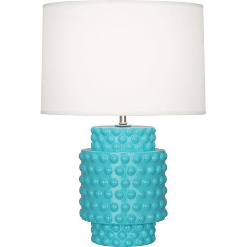 Dolly Egg Blue Glazed One-Light Accent Lamp