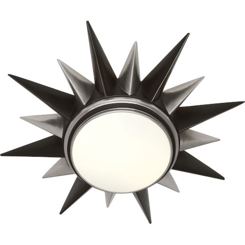 Cosmos Bronze Two-Light Flushmount