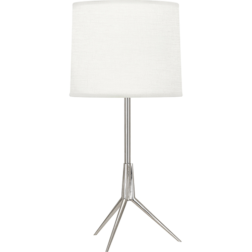 Martin Polished Nickel 20-Inch One-Light Table Lamp