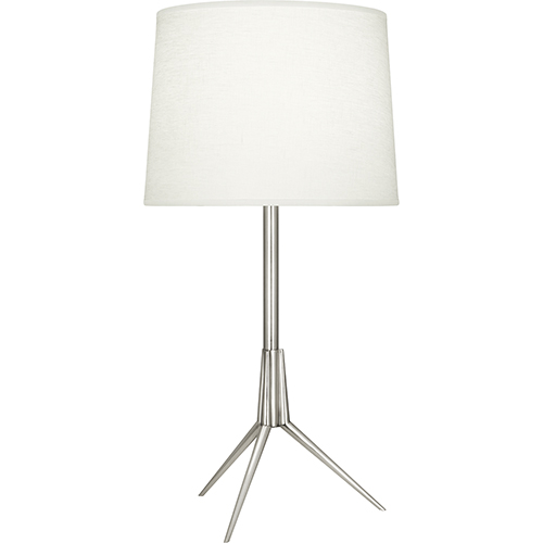 Martin Polished Nickel 28-Inch One-Light Table Lamp