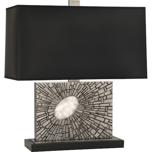 Goliath Polished Nickel One-Light Table Lamp