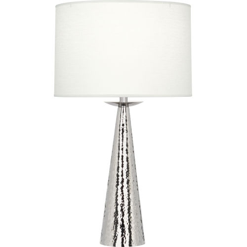 Robert Abbey Dal Polished Nickel 30-Inch One-Light Table Lamp
