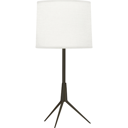 Robert Abbey Martin Deep Patina Bronze 20-Inch One-Light Table Lamp