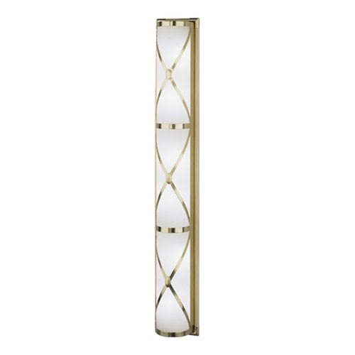 Chase Antique Brass Six-Light Bath Sconce