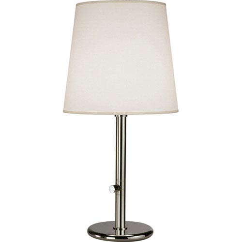 Rico Espinet Buster Chica Polished Nickel One-Light Table Lamp
