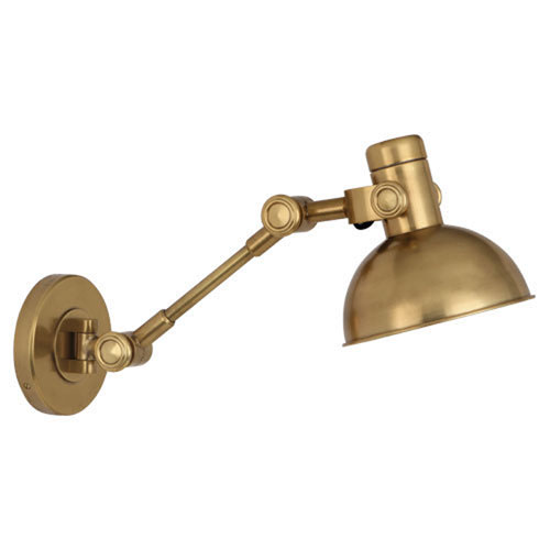Rico Espinet Scout Antique Brass One-Light Sconce