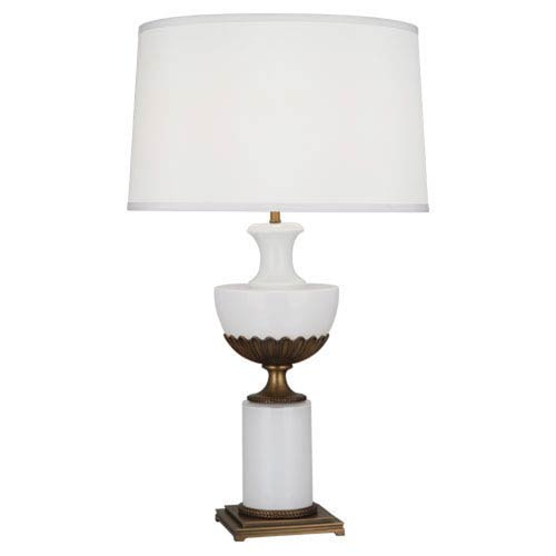 Williamsburg Ludwell Aged Brass One-Light Table Lamp