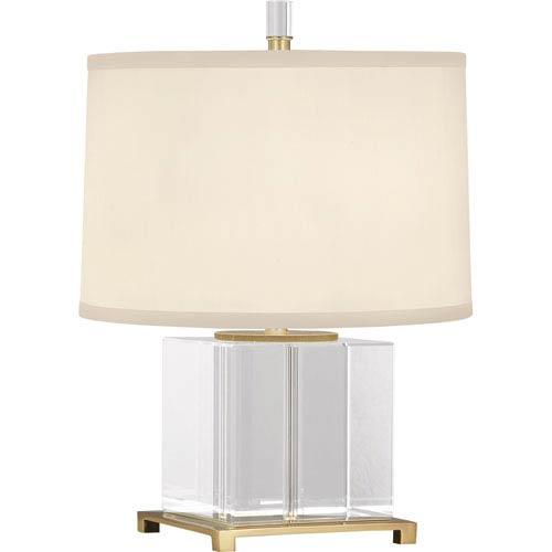 Robert Abbey Williamsburg Finnie Modern Brass One-Light Table Lamp