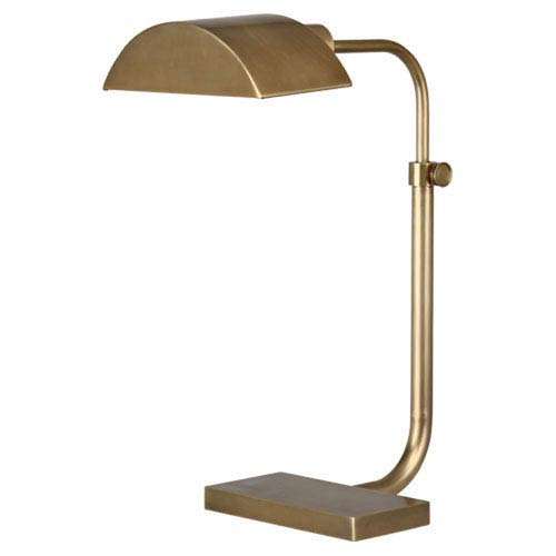 Koleman Aged Brass One-Light Desk Lamp