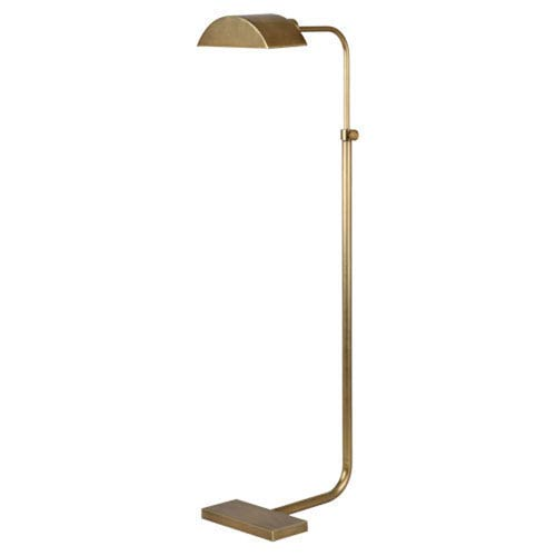 Koleman Aged Brass One-Light Floor Lamp