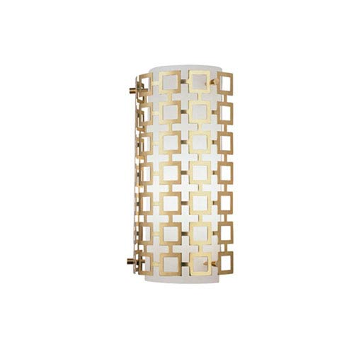 Jonathan Adler Parker Antique Brass One-Light Sconce