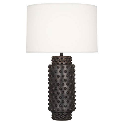 Dolly Gunmetal Ceramic Glaze 27.5-Inch One Light Table Lamp