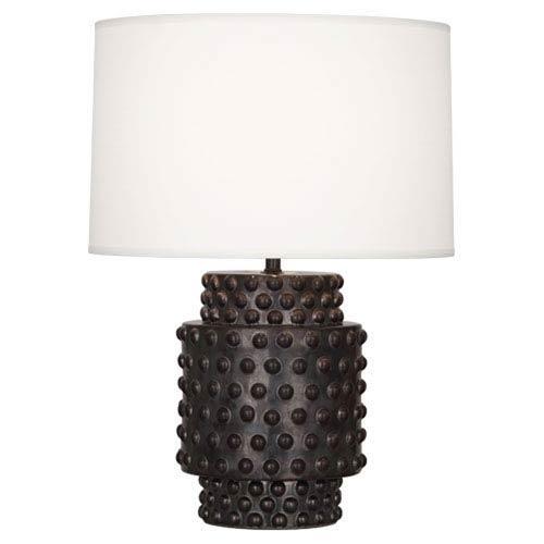 Dolly Gunmetal Ceramic Glaze 21.5-Inch One Light Table Lamp