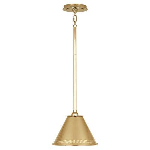 Jonathan Adler St. Germain Polished Brass One-Light Pendant