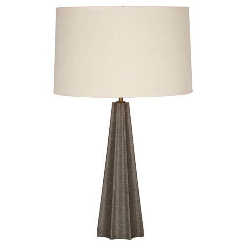Anna Shagreen and Aged Brass One-Light Table Lamp